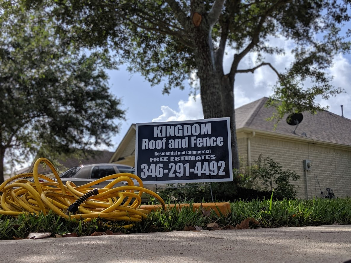 Kingdom Roof and Fence 346-291-4492