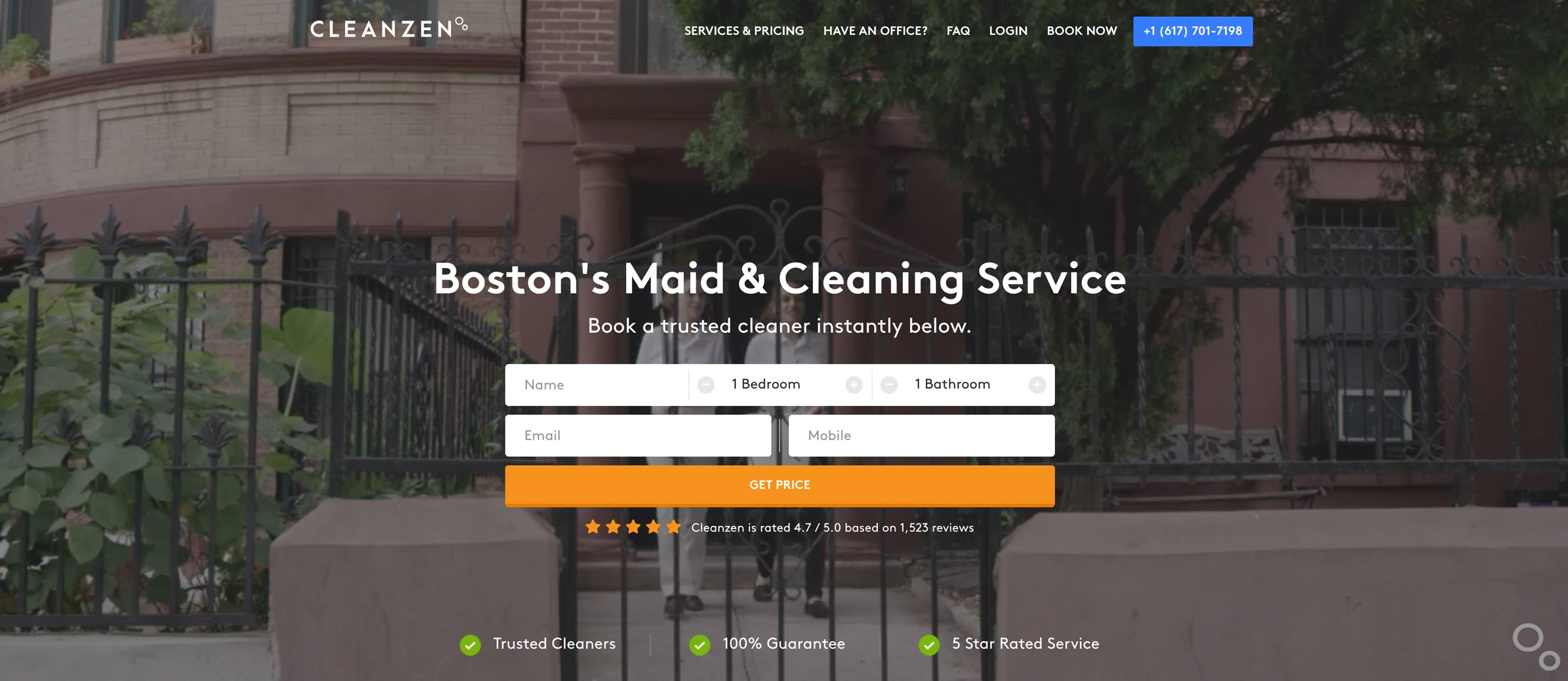 Cleanzen Cleaning Services Online Booking
